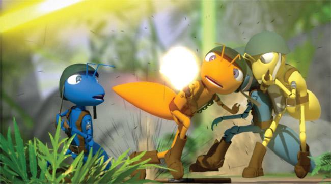 65 Gambar Animasi Semut Lucu