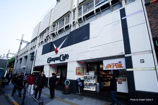 Gundam Cafe in Akihabara