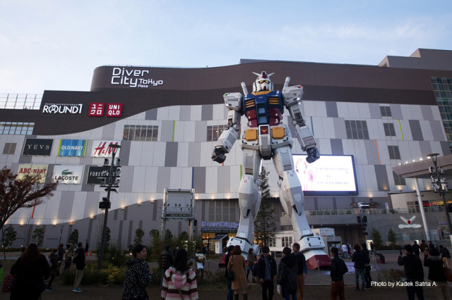 06 Gundam Statue in Odaiba
