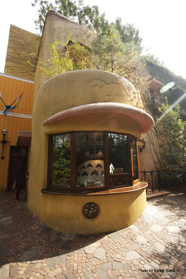 Totoro in Ghibli Museum