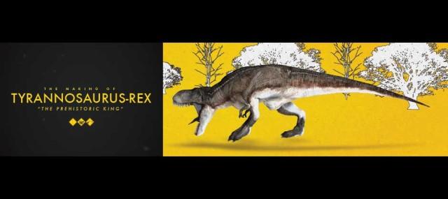 Tyrannosaurus Rex, The Prehistoric King by Septadenata