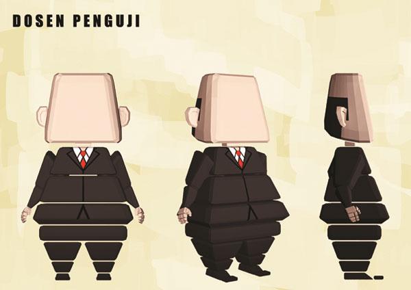 "Short Animation ""Tugas Akhir"" By Wiedya Dharma"