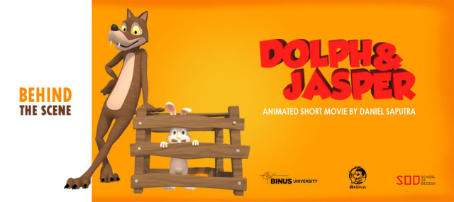 """DOLPH & JASPER"", SHORT ANIMATION BY DANIEL SAPUTRA"
